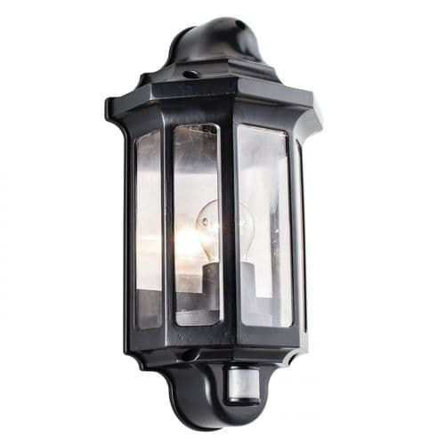 Saxby 1818PIR Traditional PIR Outdoor Wall Light Automatic